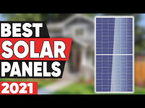 5 Best Solar Panels in 2021