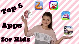 My Top 5 Apps For Kids When Self Isolating Quarantine   #mytopfive #mytop5 #top5   Bella Mix