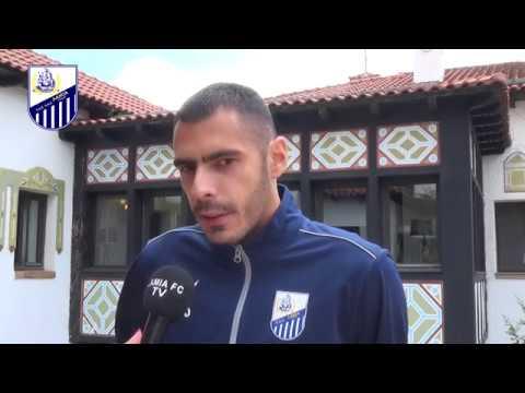 Ο Κωνσταντίνος Θεοδωρόπουλος στο Lamia FC TV (συνέντευξη)