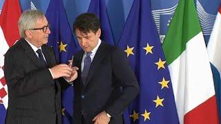 Knackpunkt Schuldenquote - Italien reicht Haushalt in Brüssel ein