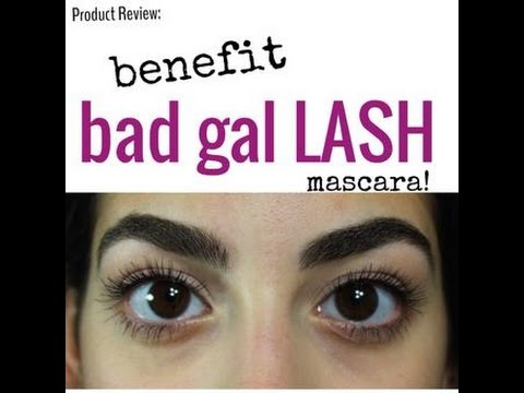 091190beb3e Product Review: Benefit Bad Gal Lash Mascara ♛ - YouTube