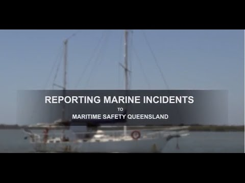 Maritime Minutes – Marine Incident Reporting