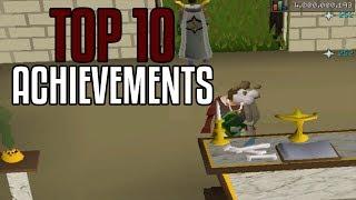 Top 10 Old School Runescape Achievements