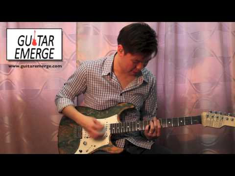 Guitar Emerge - Darlene Zschech - God Is Here (Electric Guitar Cover & Tutorial)