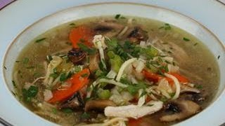 Try Emeril Lagasse's Simple Chicken Noodle Soup