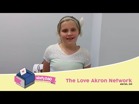 Sixty for 60 Official Entry | The Love Akron Network