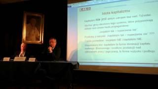 Nowa ekonomia postkapitalistyczna. prof. A. Śliwinśki, dr A. Kisil. Debata JN