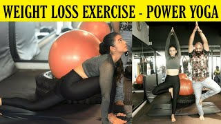 POWER YOGA For Complete FITNESS   Beginners Workout