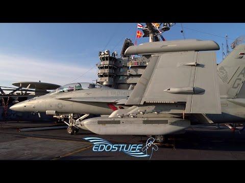 USS Harry S. Truman CVN-75 Aircraft Carrier Tour - Split Croatia
