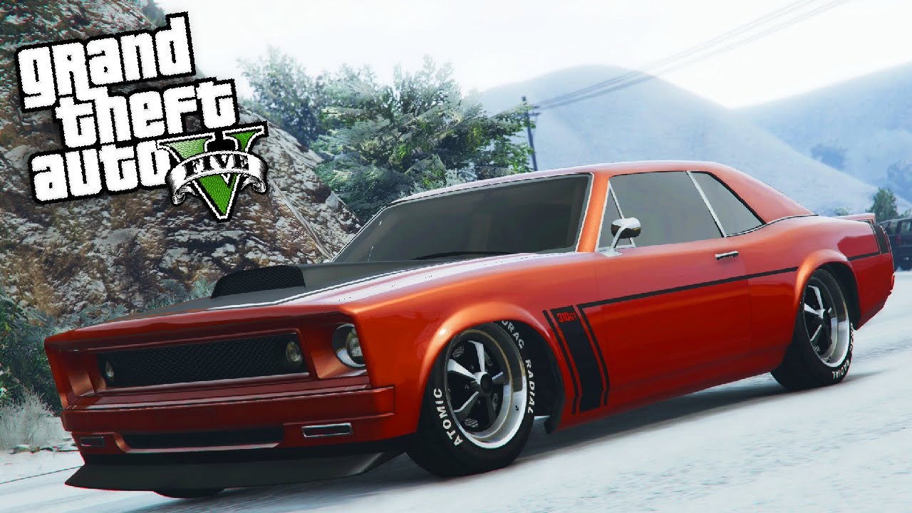 "gta online: fully upgraded ""declasse tampa"" dlc muscle car showcase"