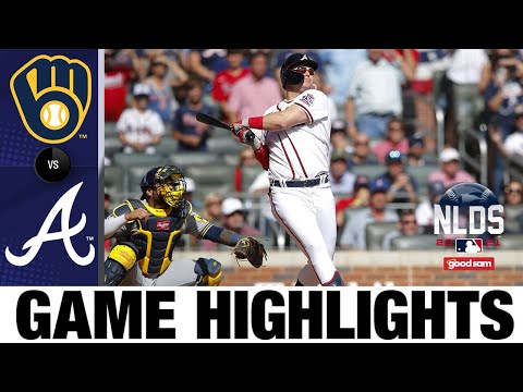 Brewers vs. Braves NLDS Game 3 Highlights (10/11/21)   MLB Highlights