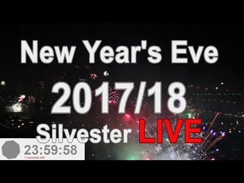 Silvester Feuerwerk 2017/18 in Wien [livestream]