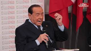 Carcere grandi evasori, Berlusconi: