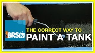 FAQ #1: What do you recommend to paint the back of the aquarium? | 52 FAQ
