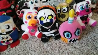 Fnaf custom plush collection