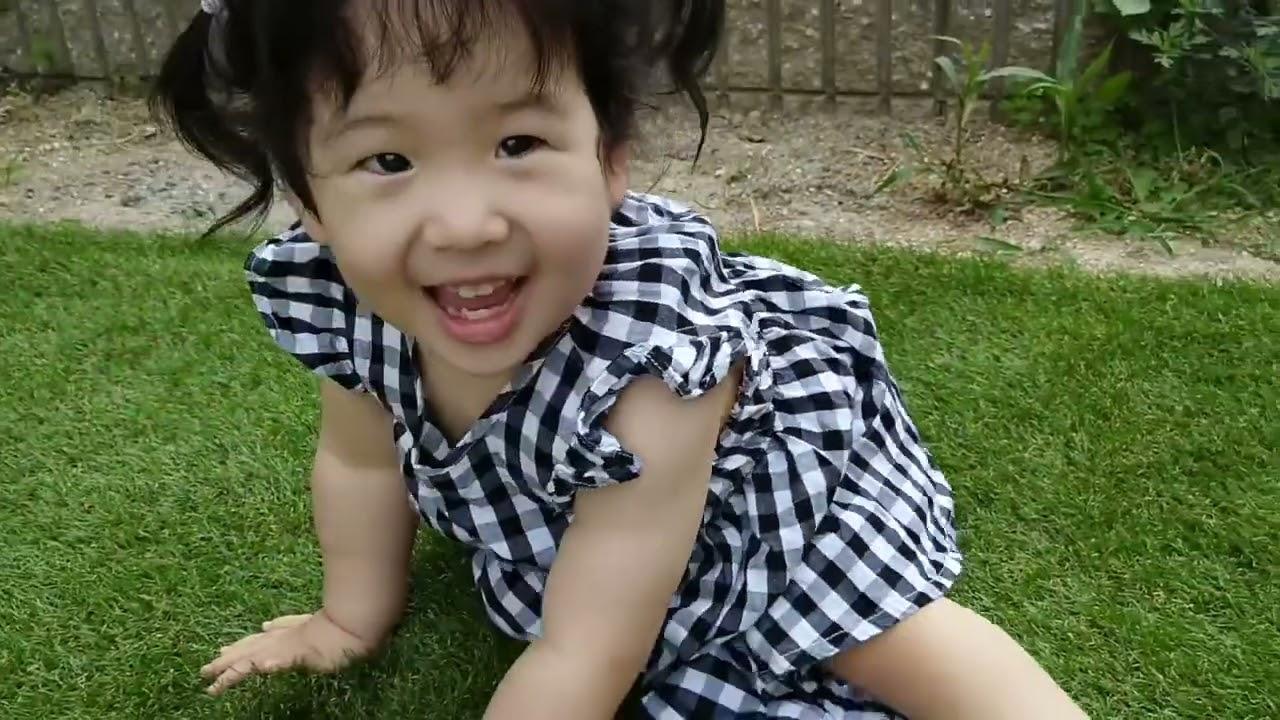 新作【水頭症】天使が地上に舞い降りた!?【下半身麻痺】S10  1歳10ヶ月