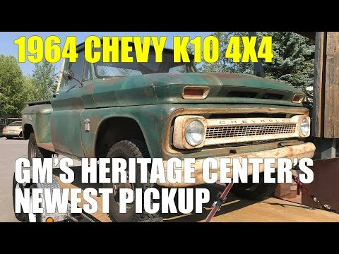 1964 Chevy K10, a Walk Around of GM's Heritage Center's Newest Pickup