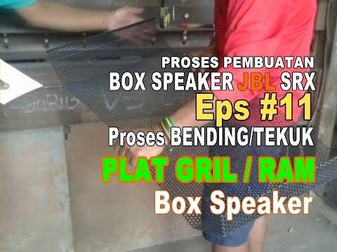 Box Speaker SRX Custom #Part11 ( Poses pemasangan gril di box speaker)