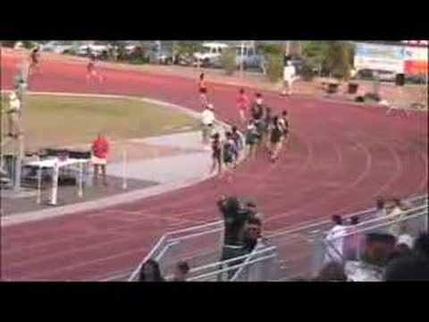 Del Sol Track Regionals 2008--Girls 800M