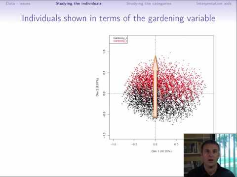 Multiple Correspondence Analysis (part 2/4: Visualizing the point cloud of individuals)