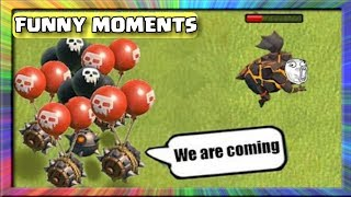 COC Funny Moments, Trolls, Fails & Glitches Compilation | Clash of Clans Montage