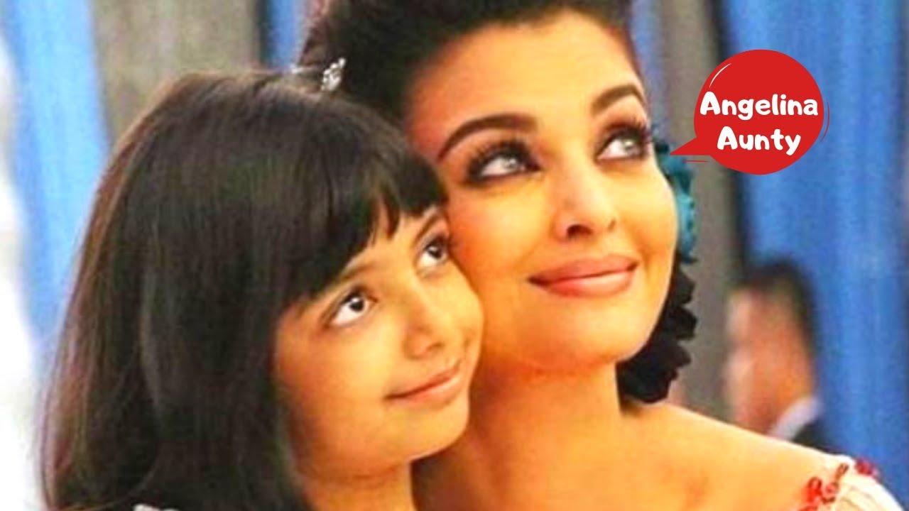 Aaradhya ka reaction Aishwarya ke Maleficent role ke liye ...