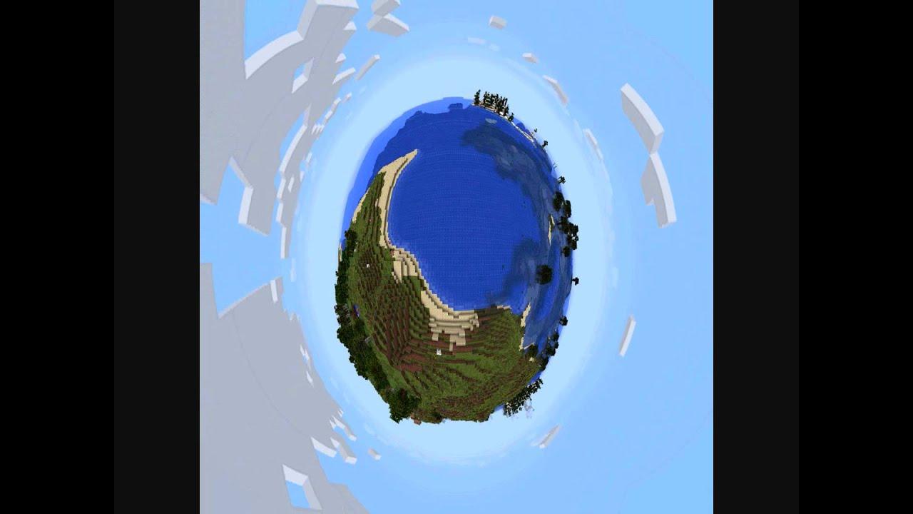 Orbiting Planet Minecraft - YouTube