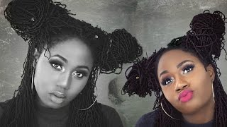 bobbi boss micro locs   12 ways to style your crochet faux locs braids