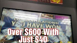 💵💵Making It Rain💵💵 *PA Skills* Winning Over $600 With Just $40* PA Skills Scotty Style* Big Wins
