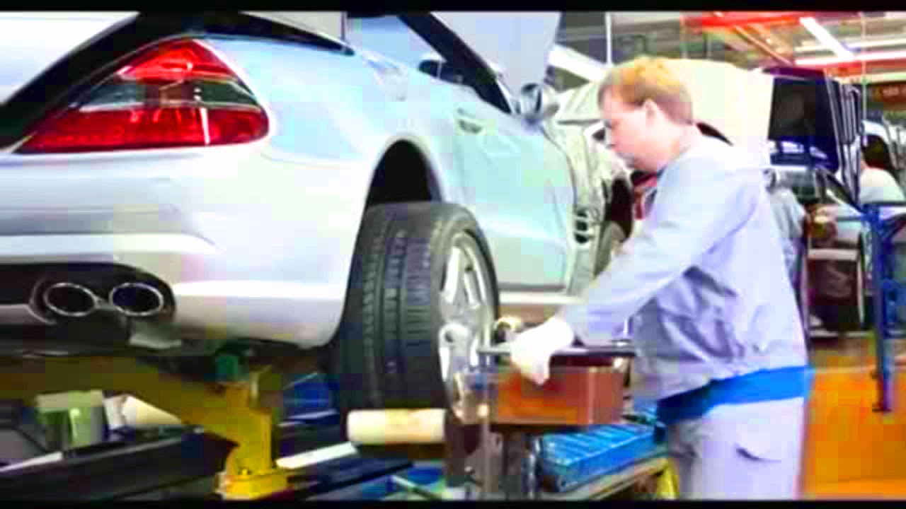 Plant mercedes benz manufacturing sl r230 in bremen 2 for Mercedes benz manufacturing plant in usa