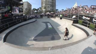 El Dew Tour Long Beach ahora desde el skate bowl