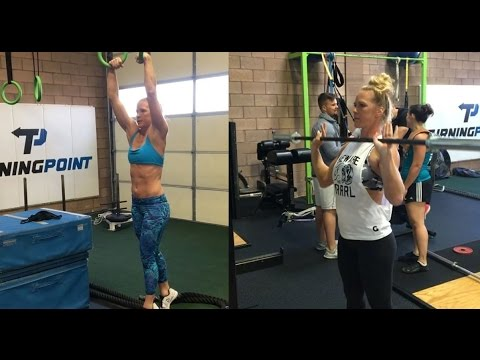 Holly Holm training 2017 UFC 208