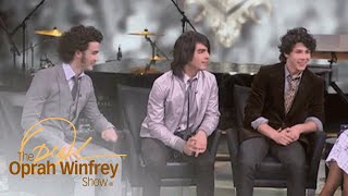 Young Jonas Brothers Recall a Cute Moment with Then-President Obama | The Oprah Winfrey Show | OWN
