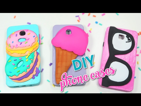 DIY EASY PHONE CASES HOMEMADE