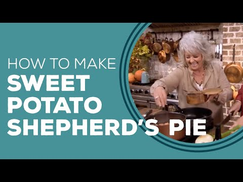 Turkey and Sweet Potato Shepherd's Pie Blast from the Past