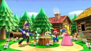 Mario Party 9 (TAS): Free Play (4 players)