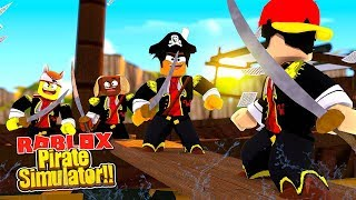 ROBLOX - THE PIRATE SIMULATOR!!!