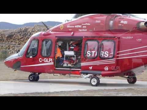 STARS AW 139 helicopter air ambulance