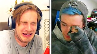 5 YouTubers CRYING ON CAMERA! (DanTDM, Ssundee, PopularMMOs, Crainer, Guava Juice)