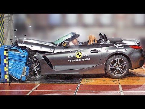 2020 BMW Z4 Crash Test – Safe Roadster???