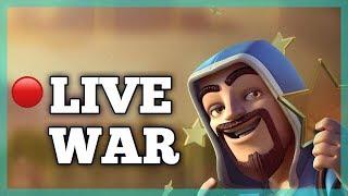 🔴 LIVE WAR ATTACK | COME FAST | CLASH OF CLANS