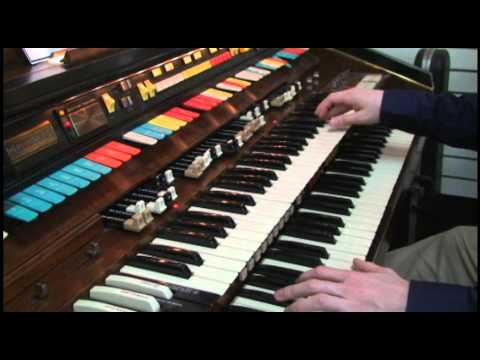 hammond organ for sale on consignment at jc music youtube. Black Bedroom Furniture Sets. Home Design Ideas