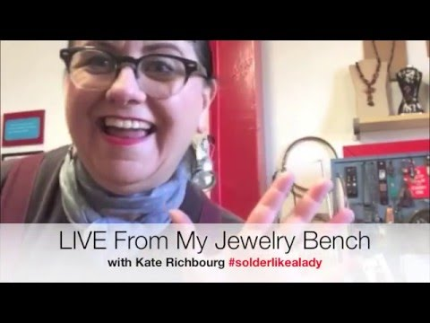 LIVE From My Jewelry Bench Casting with Potter USA & shaping Stones with the Jool Tool