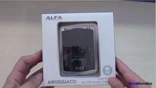 configuracin y manejo adaptador WiFi ALFA AWUS036ACH