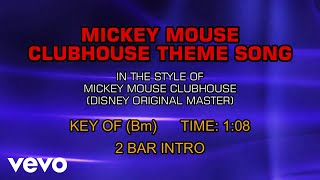 Mickey Mouse Clubhouse Theme Song (Karaoke)