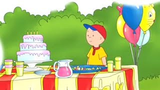 Caillou Full Episodes 2019 | Caillou is bored at Birthday Party 🎂 WATCH ONLINE | Cartoon Movie