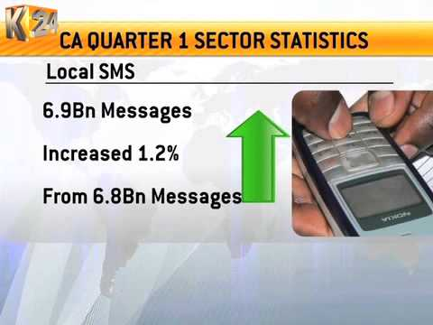 CA Records Growth In Mobile, Data/Internet, Postal And Courier Sub-sectors from YouTube · Duration:  1 minutes 11 seconds