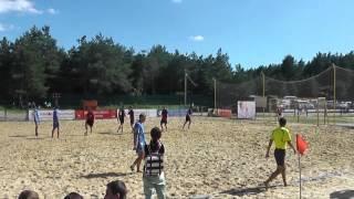 """Пляжный футбол. """"Кристалл"""" - """"Сборная г. Белгорода 8:7"""