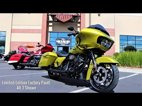3 New Factory Colors for Road Glide Special Harley-Davidson 2020