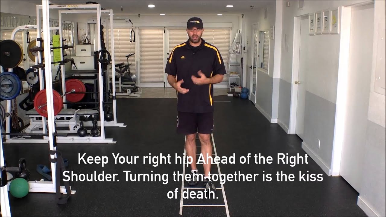how to hold a shot put